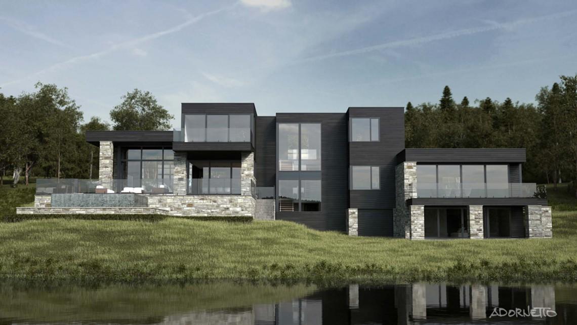web projet 001 Lac Simon - 04 Arriere 1 3D