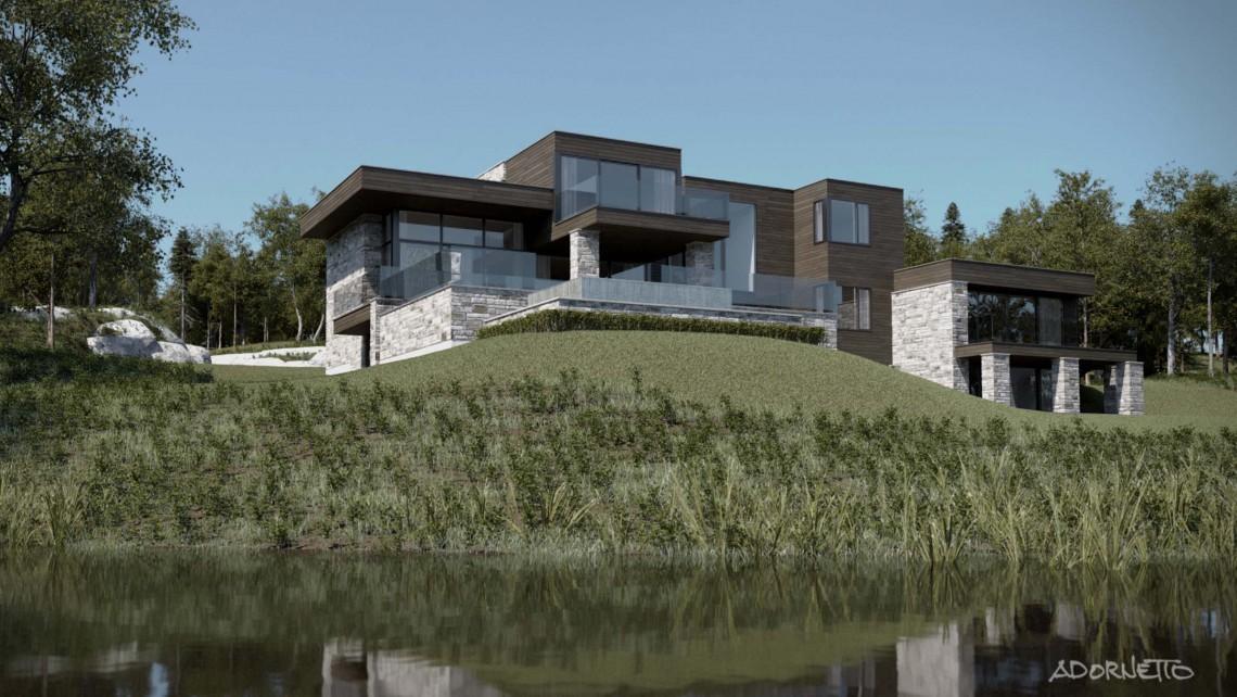 web projet 001 Lac Simon - 06 Arriere 3 3D