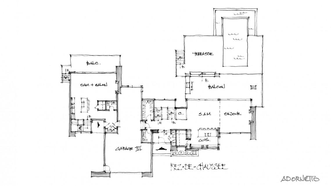 web projet 001 Lac Simon - 07 Plancher 1