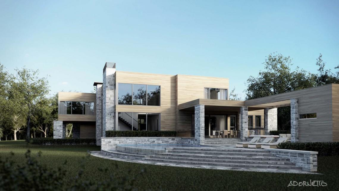 web projet 007 Le St-Bernard - 02 Arrière 3D