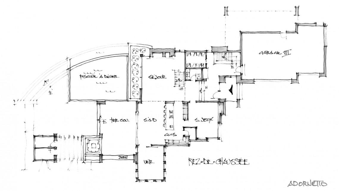 web projet 007 Le St-Bernard - 03 Plancher 1