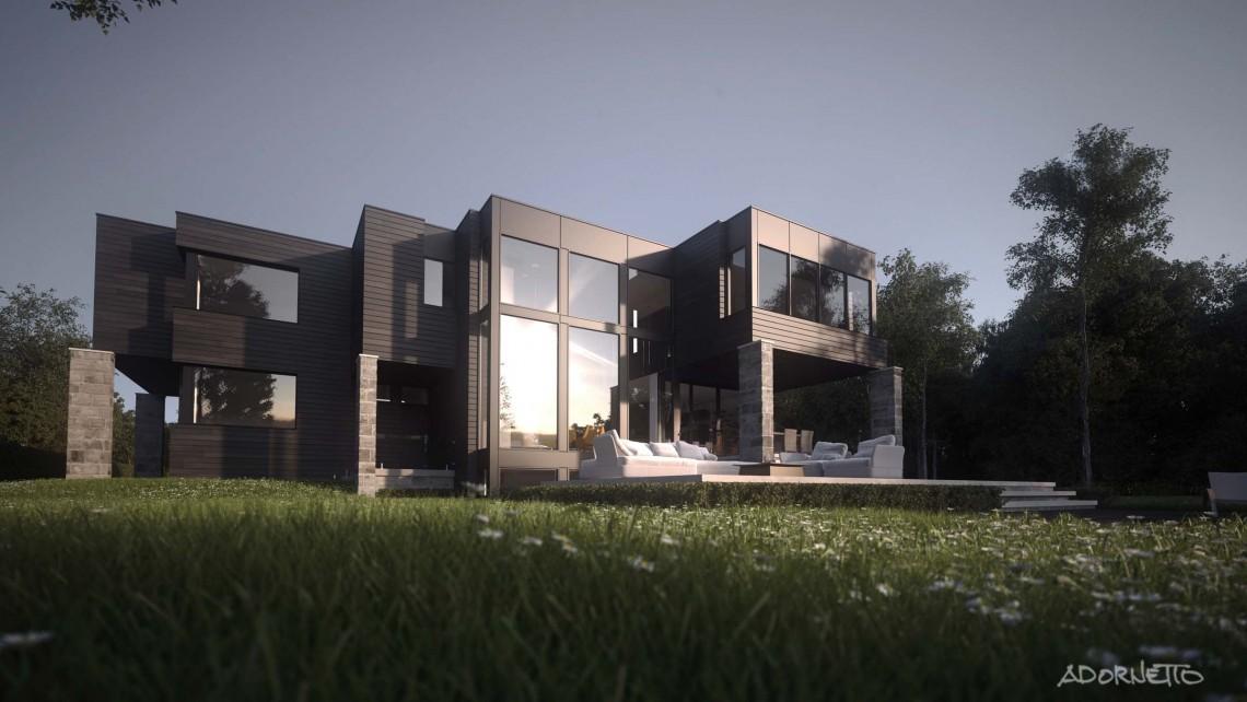 web projet 008 La Rive Boisée - 04 Arrière 1 3D