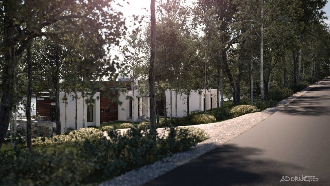 web projet 009 Le Lac Masson - 02 Facade 2 3D