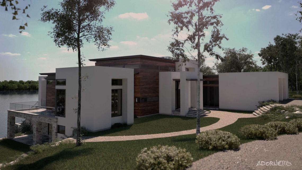 web projet 009 Le Lac Masson - 04 Facade 4 3D