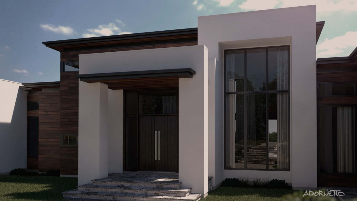 web projet 009 Le Lac Masson - 05 Porte 3D