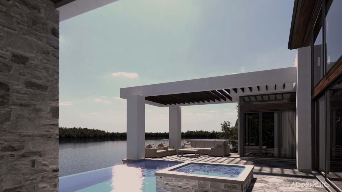 web projet 009 Le Lac Masson - 10 Terrasse 1 3D