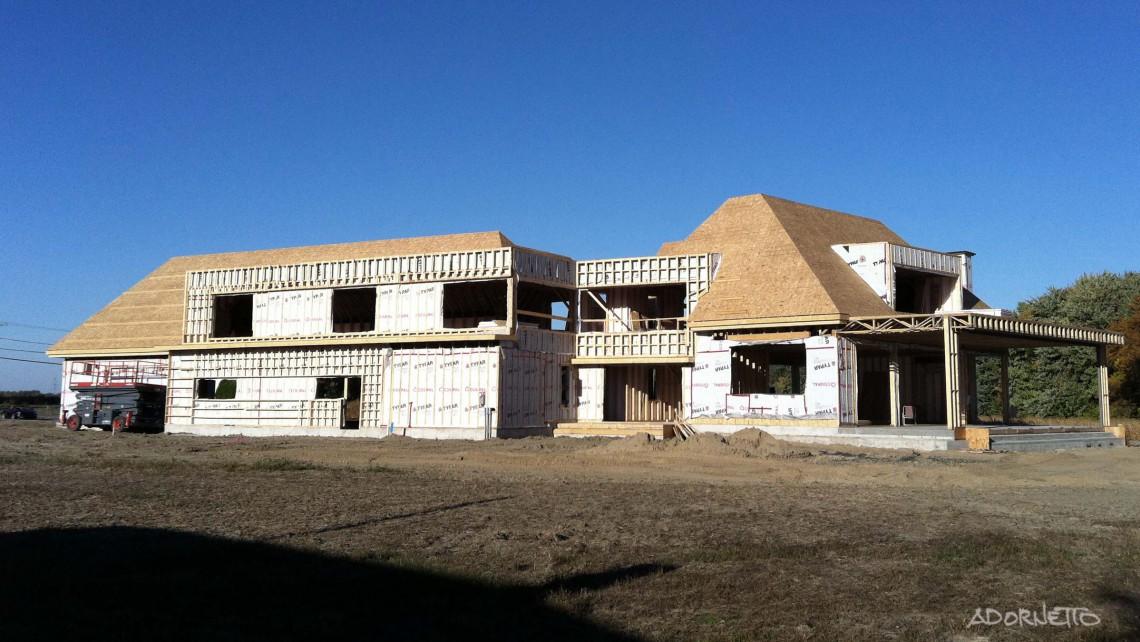 web projet 012 Le Lachenaie - 02 Arrière photo en construction
