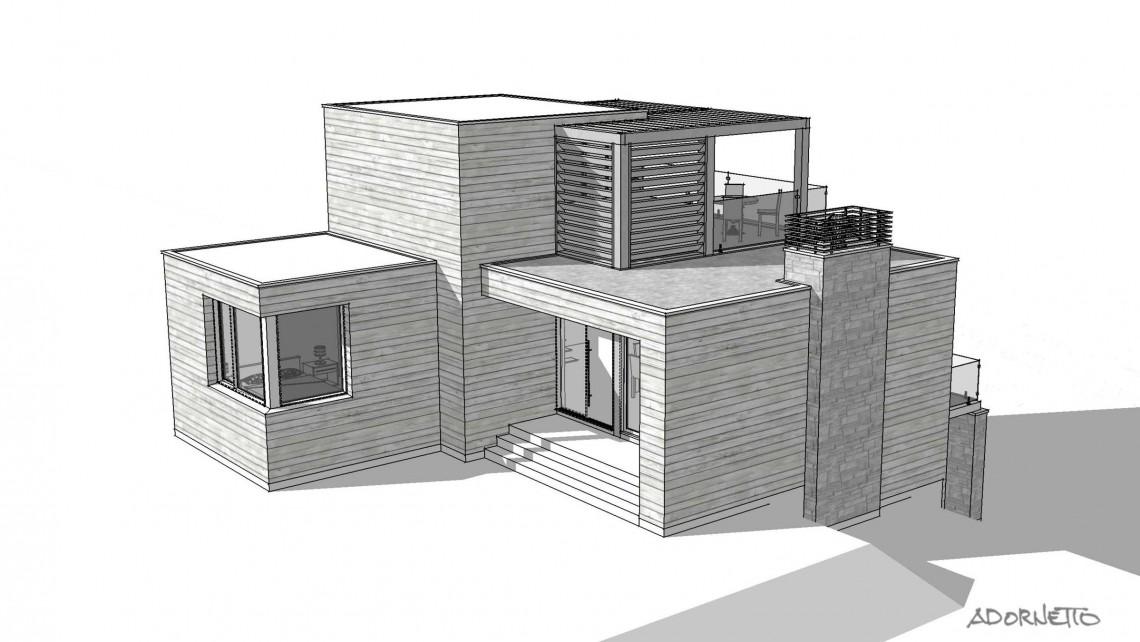 web projet 014 Le Belvédère - 10 SketchUp F